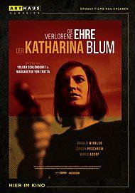 """Filmplakat für """"Die verlorene Ehre der Katharina Blum"""""""