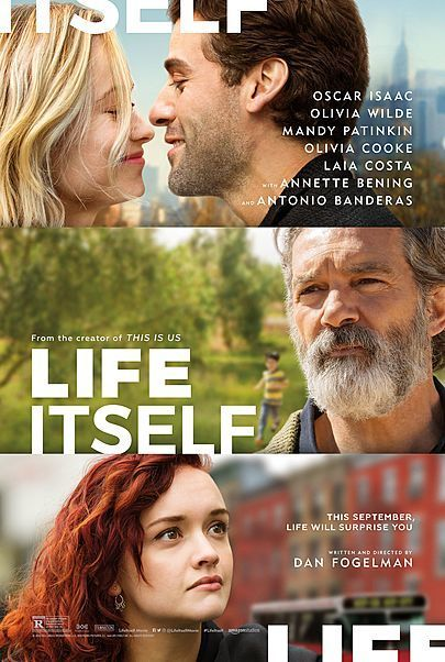 """Movie poster for """"LIFE ITSELF"""""""
