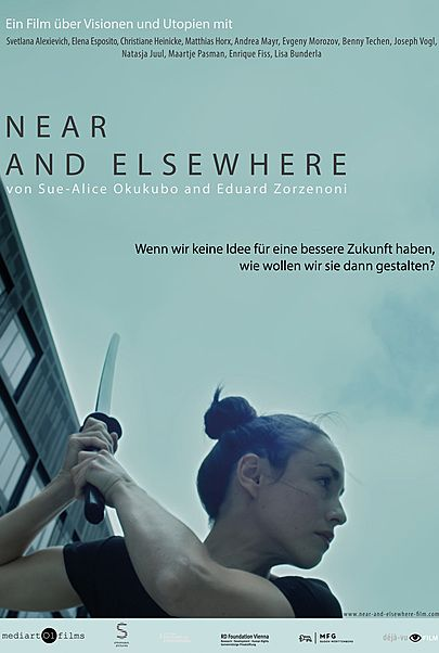 """Movie poster for """"Near and Elsewhere"""""""