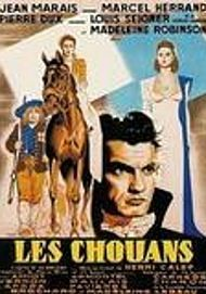 "Movie poster for ""LES CHOUANS"""