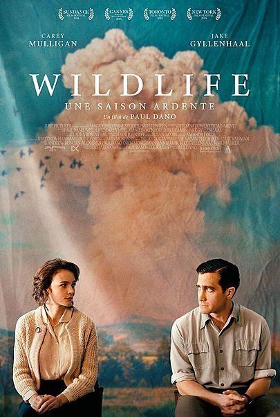 "Movie poster for ""WILDLIFE"""