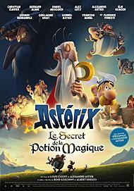 "Movie poster for ""ASTERIX - THE SECRET OF THE MAGIC POTION"""
