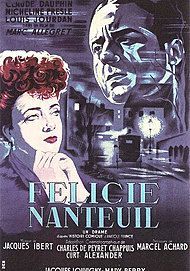 "Movie poster for ""FELICIE NANTEUIL"""