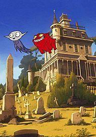 "Movie poster for ""PETIT VAMPIRE"""