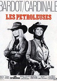 "Movie poster for ""LES PETROLEUSES"""