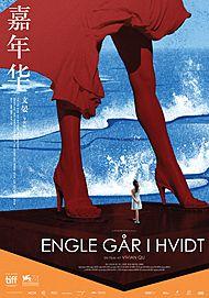 """Movie poster for """"Engle Går I Hvidt"""""""