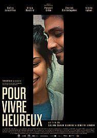 """Movie poster for """"POUR VIVRE HEUREUX"""""""
