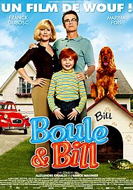 """Movie poster for """"BOULE & BILL"""""""