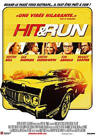 """Movie poster for """"HIT AND RUN"""""""