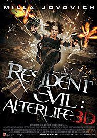 "Movie poster for ""RESIDENT EVIL: AFTERLIFE"""