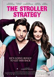 """Movie poster for """"THE STROLLER STRATEGY"""""""