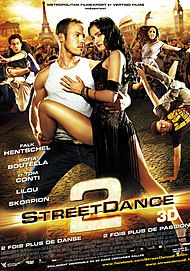 "Movie poster for ""STREETDANCE 2"""