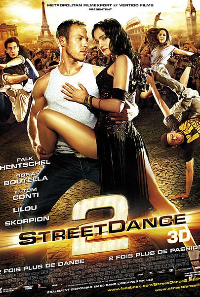 "Affiche du film ""STREET DANCE 2"""
