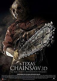 "Affiche du film ""TEXAS CHAINSAW 3D"""