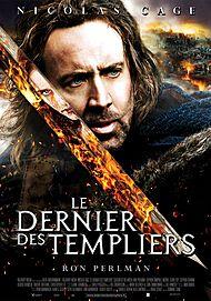 """Affiche du film """"LE DERNIER DES TEMPLIERS"""""""