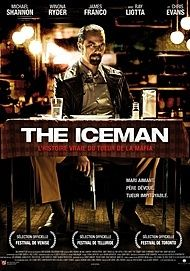 """Movie poster for """"THE ICEMAN"""""""