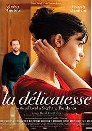"""Movie poster for """"DELICACY"""""""