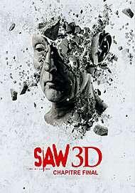 "Affiche du film ""SAW VII 3D"""