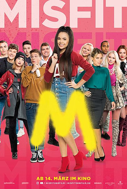 """Movie poster for """"MISFIT"""""""