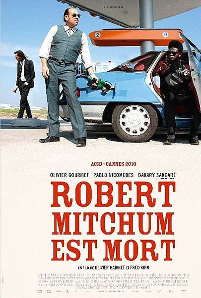 """Movie poster for """"ROBERT MITCHUM IS DEAD"""""""