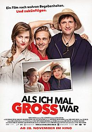 """Filmplakat für """"Als ich mal groß war"""""""