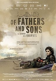 "Movie poster for ""OF FATHERS AND SONS"""