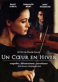 """Affiche du film """"UN COEUR EN HIVER"""""""