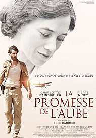 """Movie poster for """"PROMISE AT DAWN"""""""