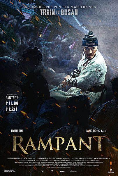 """Filmplakat für """"Rampant"""""""