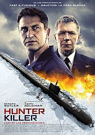 "Movie poster for ""HUNTER KILLER"""