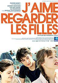 "Movie poster for ""J'AIME REGARDER LES FILLES"""