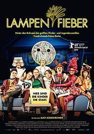 "Movie poster for ""Lampenfieber"""
