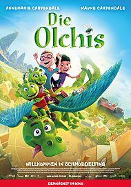 """Movie poster for """"DIE OLCHIS - WILLKOMMEN IN SCHMUDDELFING"""""""