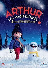 """Movie poster for """"ARTHUR ET LA MAGIE DE NOEL"""""""