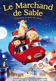 "Movie poster for ""LE MARCHAND DE SABLE"""