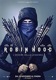 """Movie poster for """" ROBIN HOOD - L'ORIGINE DELLA LEGGENDA"""""""