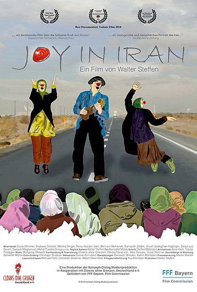 """Filmplakat für """"Joy in Iran"""""""