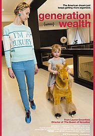 """Movie poster for """"GENERATION WEALTH"""""""