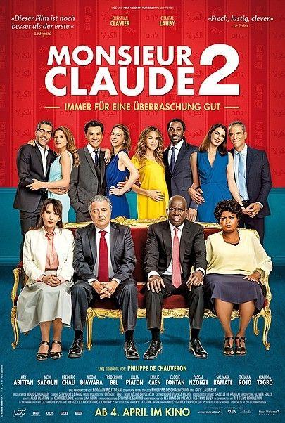 "Filmplakat für ""Monsieur Claude 2"""