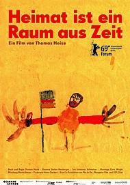 """Movie poster for """"Heimat ist ein Raum aus Zeit"""""""