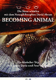 """Movie poster for """"Becoming Animal"""""""