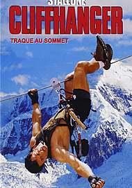 "Movie poster for ""CLIFFHANGER"""