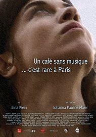 """Movie poster for """"UN CAFE SANS MUSIQUE C'EST RARE A PARIS"""""""
