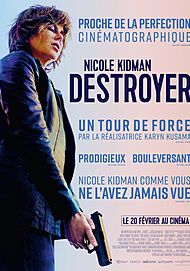 """Movie poster for """"DESTROYER"""""""