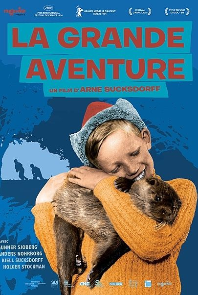 "Movie poster for ""THE GREAT ADVENTURE"""