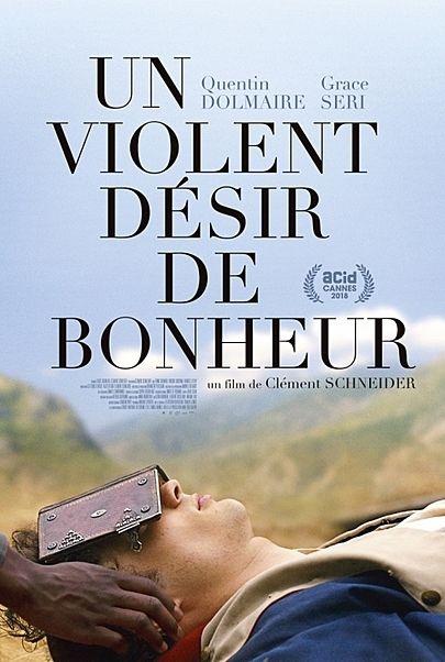 """Movie poster for """"A VIOLENT DESIR OF JOY"""""""