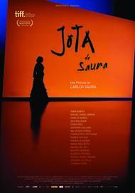 """Movie poster for """"Jota, de Saura"""""""