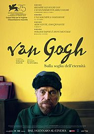"""Movie poster for """"VAN GOGH - SULLA SOGLIA  DELL'ETERNITA"""""""