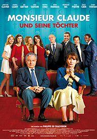 """Filmplakat für """"Monsieur Claude und seine Töchter"""""""