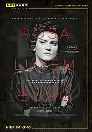 """Filmplakat für """"Rosa Luxemburg"""""""